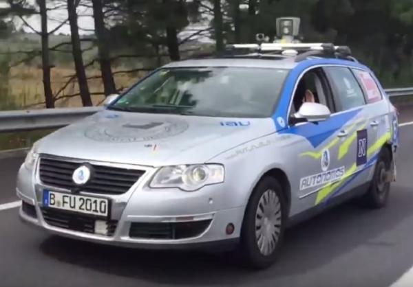 Autonomous Volkswagen